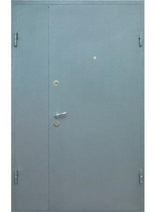 Тамбурная дверь окрас серый
