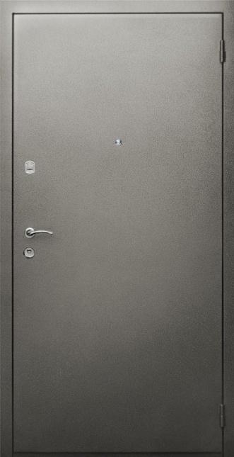 Входные двери с окрасом нитроэмалью (серый)