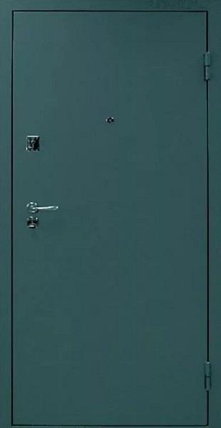 Входные двери с окрасом нитроэмалью (Аспидно-серый)