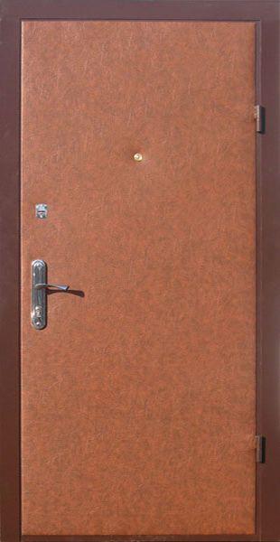 Входные двери с винилискожей тверь (табак)