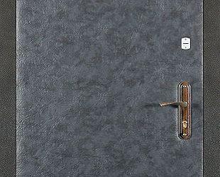Входные двери с винилискожей боди (серый)