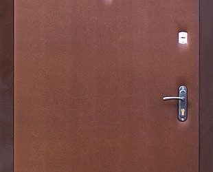 Входные двери с винилискожей (коричневый)